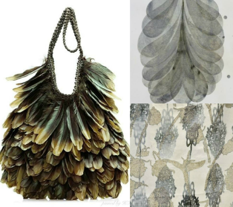 Tom Ford Feather Handbag