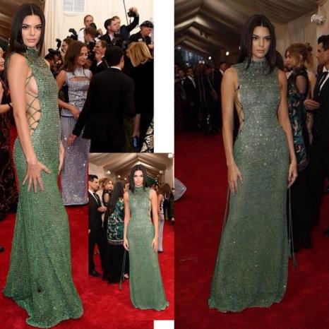 Kendall Jenner in Calvin Kleine